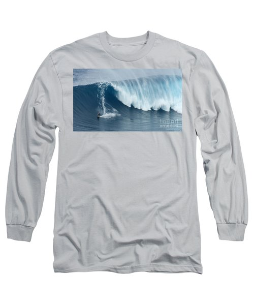 Surfing Jaws 5 Long Sleeve T-Shirt by Bob Christopher