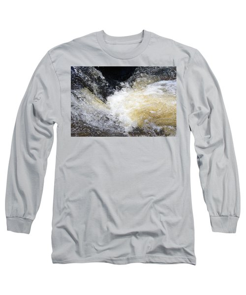 Long Sleeve T-Shirt featuring the photograph Surging Waters by Tara Potts