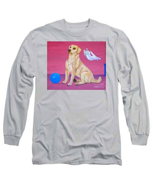 Surprise Long Sleeve T-Shirt by Phyllis Kaltenbach