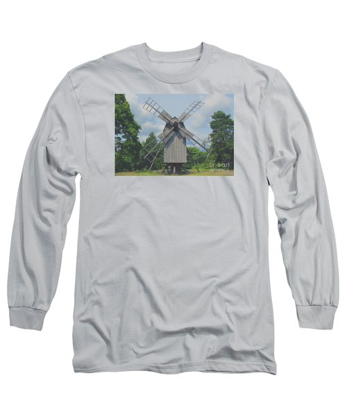 Long Sleeve T-Shirt featuring the photograph Swedish Old Mill by Sergey Lukashin