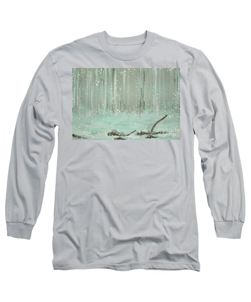 Swimming Leaves Long Sleeve T-Shirt