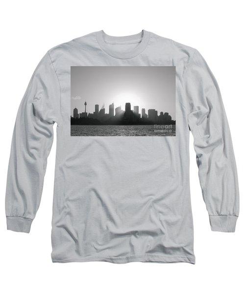 Sydney's Evening B/w Long Sleeve T-Shirt