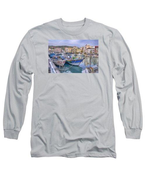 Taiwan Boats Long Sleeve T-Shirt