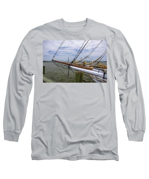 Long Sleeve T-Shirt featuring the photograph Tall Ships In Charleston by Dale Powell