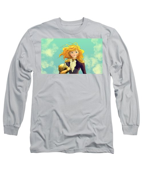 Tammy Wurtherington 1883 Color Portrait Long Sleeve T-Shirt by Reynold Jay