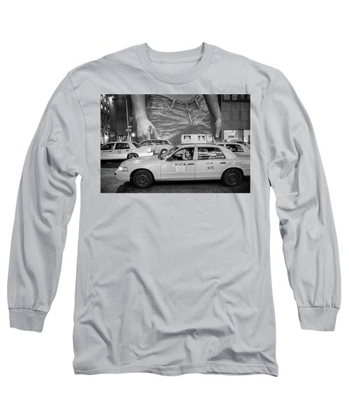Taxis On Fifth Avenue Long Sleeve T-Shirt