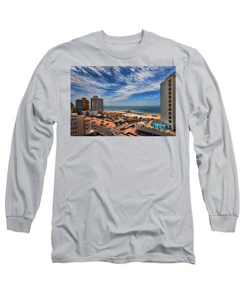 Tel Aviv Summer Time Long Sleeve T-Shirt
