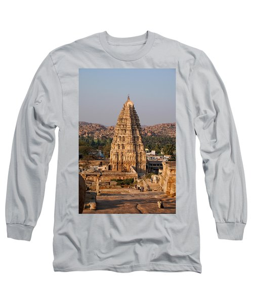 Temple At Hampi Long Sleeve T-Shirt