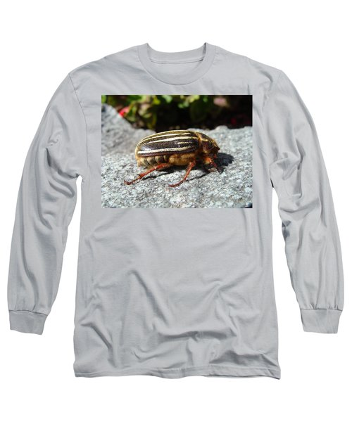 Ten-lined June Beetle Profile Long Sleeve T-Shirt