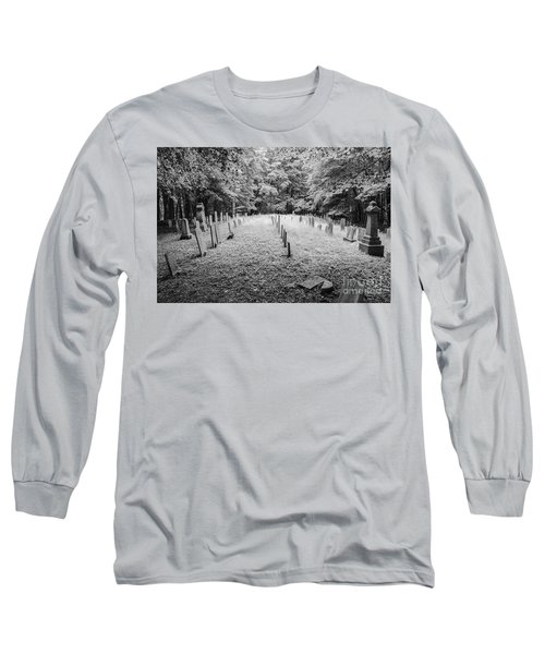 Terpenning Cemetery B And W Long Sleeve T-Shirt