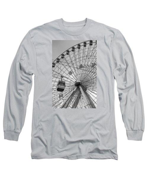 Texas Star Ferris Wheel Long Sleeve T-Shirt