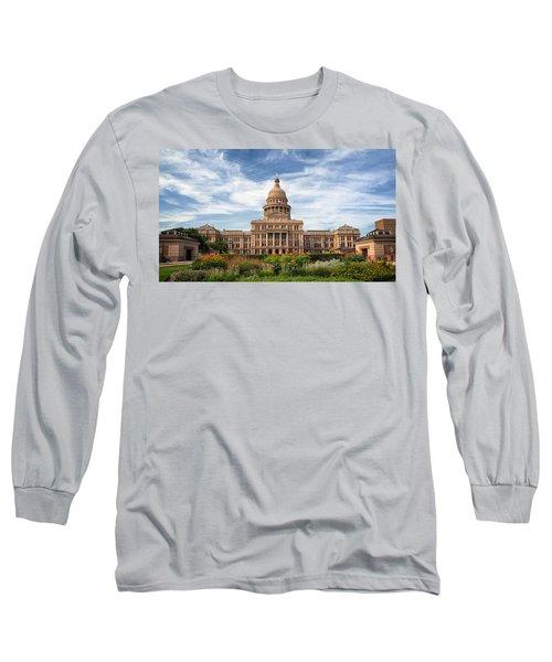 Texas State Capitol II Long Sleeve T-Shirt