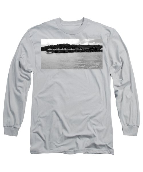 Long Sleeve T-Shirt featuring the photograph Thai Village by Andrea Anderegg