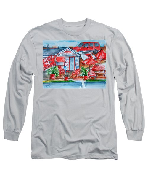 The Beach Shack Long Sleeve T-Shirt