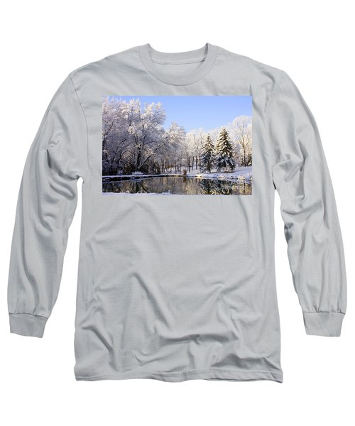 The Beauty Of White Long Sleeve T-Shirt