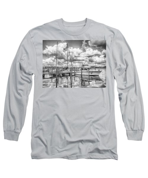 Long Sleeve T-Shirt featuring the photograph The Boat by Howard Salmon