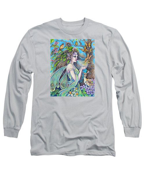 The Breath Of Spring Long Sleeve T-Shirt by Gail Butler