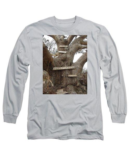 The Climbing Tree - Hurricane Katrina Survivor Long Sleeve T-Shirt