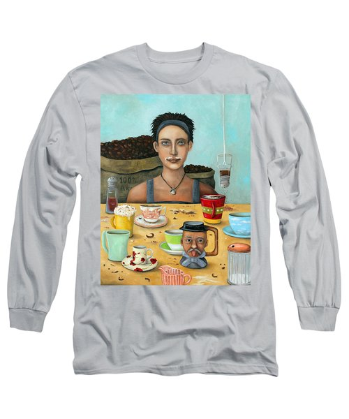The Coffee Addict Brighter Long Sleeve T-Shirt