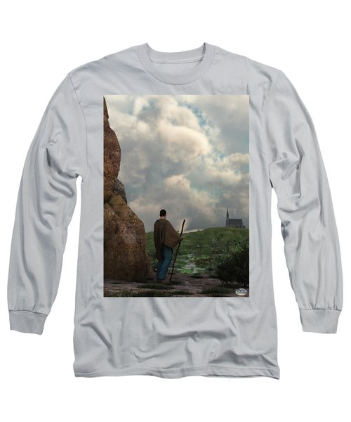 The Distant Chapel Long Sleeve T-Shirt