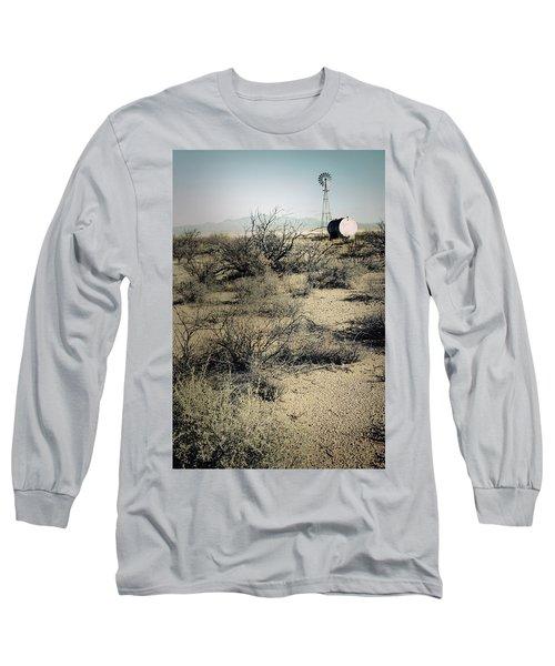 The Dry Lands Of Arizona Long Sleeve T-Shirt