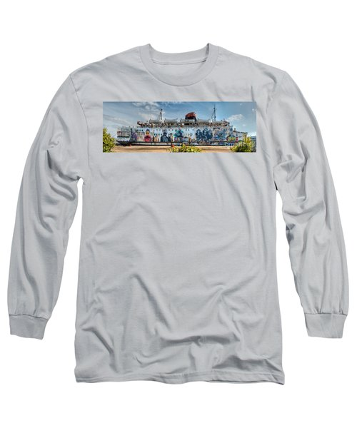 The Duke Of Graffiti Long Sleeve T-Shirt by Adrian Evans
