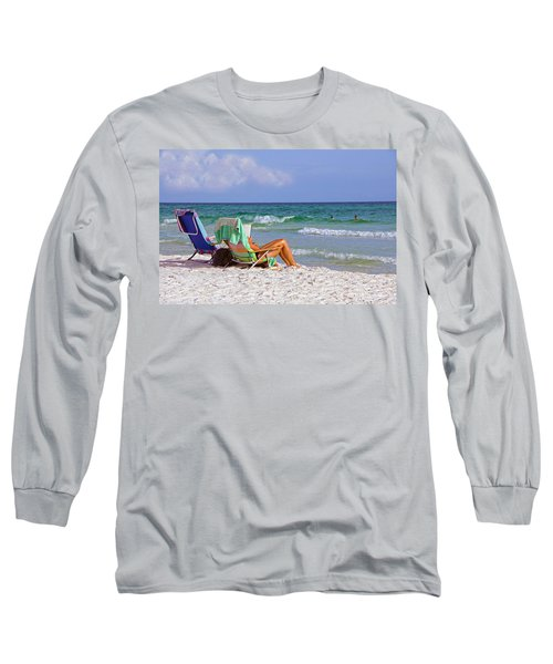 The Emerald Coast Long Sleeve T-Shirt by Charles Beeler