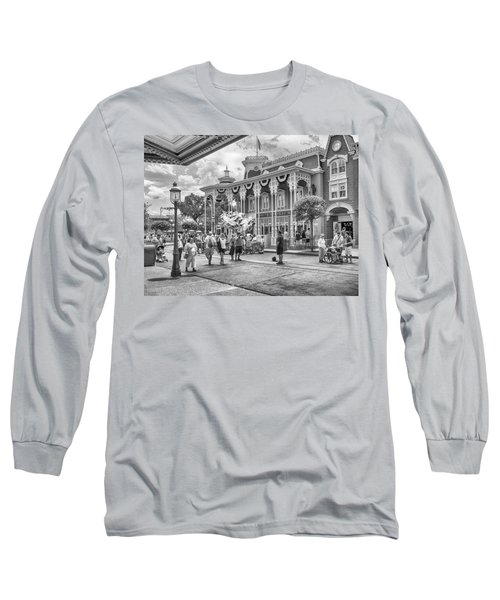 Long Sleeve T-Shirt featuring the photograph The Emporium by Howard Salmon