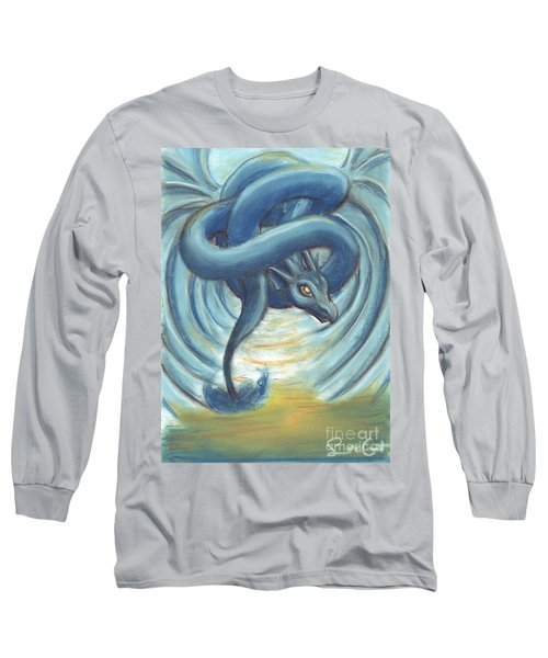 The Eye Of The Storm Long Sleeve T-Shirt by Samantha Geernaert
