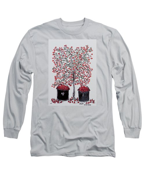 The Famous Door County Cherry Tree Long Sleeve T-Shirt by AndyJack Andropolis