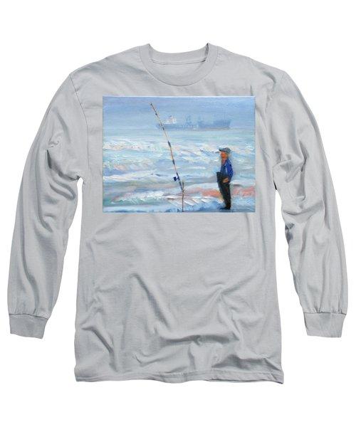 The Fishing Man Long Sleeve T-Shirt
