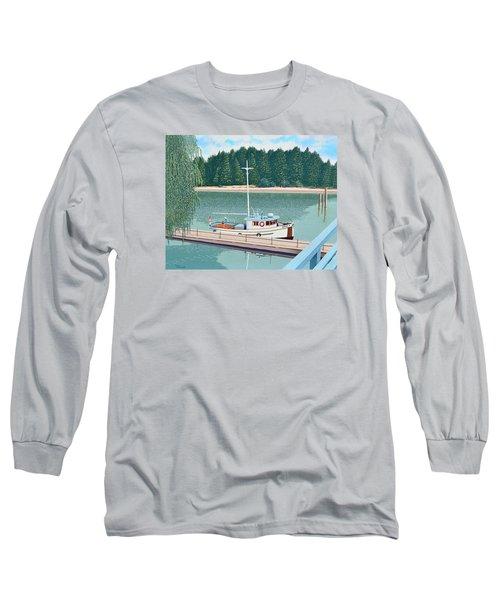 The Converted Fishing Trawler Gulvik Long Sleeve T-Shirt