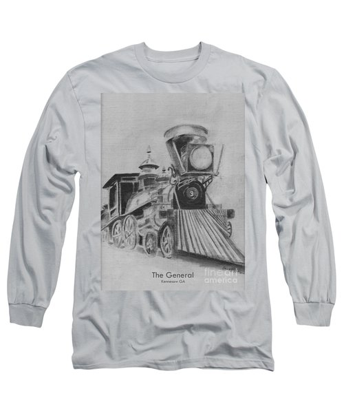 The General - Train - Big Shanty Kennesaw Ga Long Sleeve T-Shirt