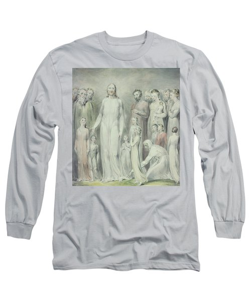 The Healing Of The Woman With An Issue Of Blood Long Sleeve T-Shirt