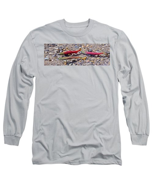 Long Sleeve T-Shirt featuring the photograph The Interloper by Jim Thompson