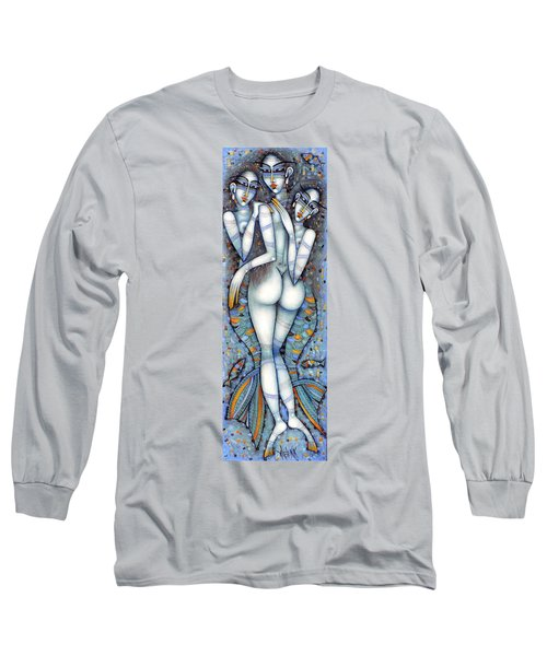the little mermaids of Andersen Long Sleeve T-Shirt