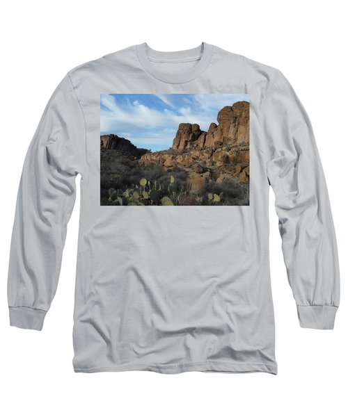 The Living Desert Of Arizona Long Sleeve T-Shirt
