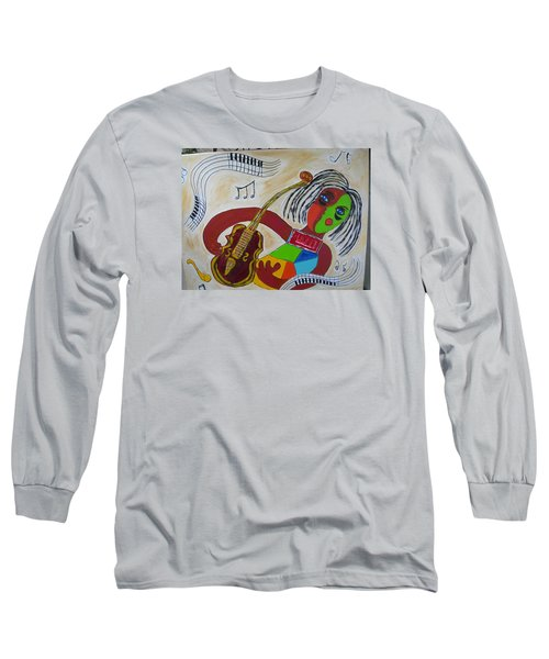 The Music Practitioner Long Sleeve T-Shirt by Sharyn Winters