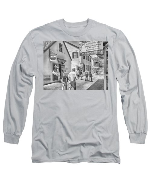 Long Sleeve T-Shirt featuring the photograph The Pink Petunia by Howard Salmon