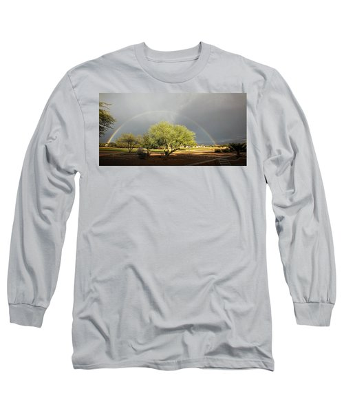 The Rain And The Rainbow Long Sleeve T-Shirt