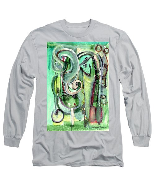 The Song Long Sleeve T-Shirt by Stephen Lucas