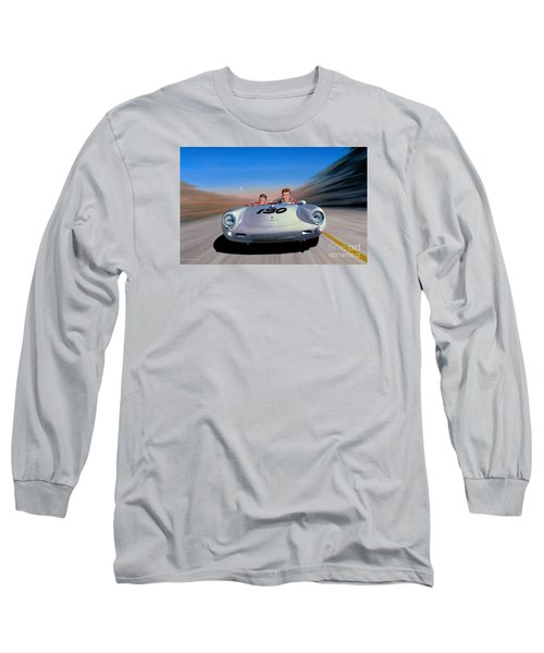 Long Sleeve T-Shirt featuring the painting The Spirit Lives by Michael Swanson
