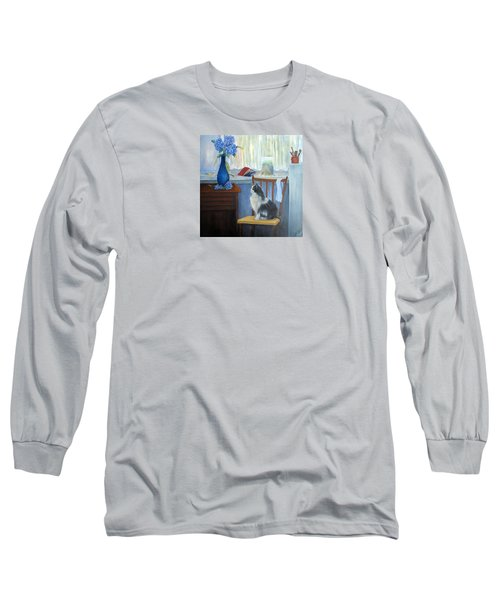 The Studio Cat Long Sleeve T-Shirt