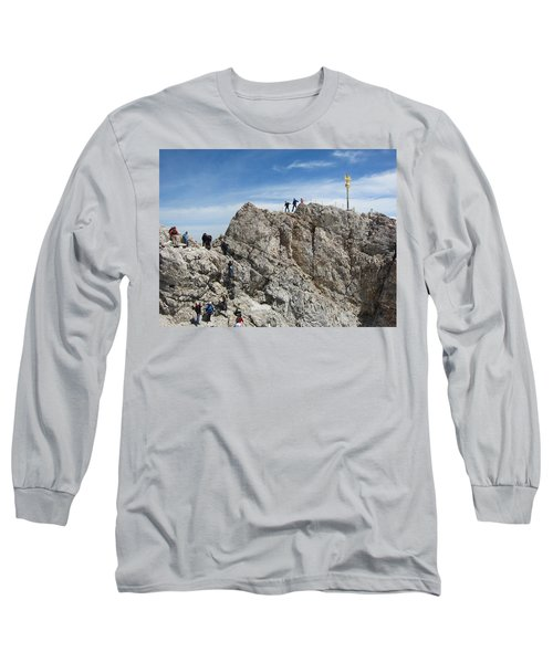 Long Sleeve T-Shirt featuring the photograph The  Summit - 1 by Pema Hou