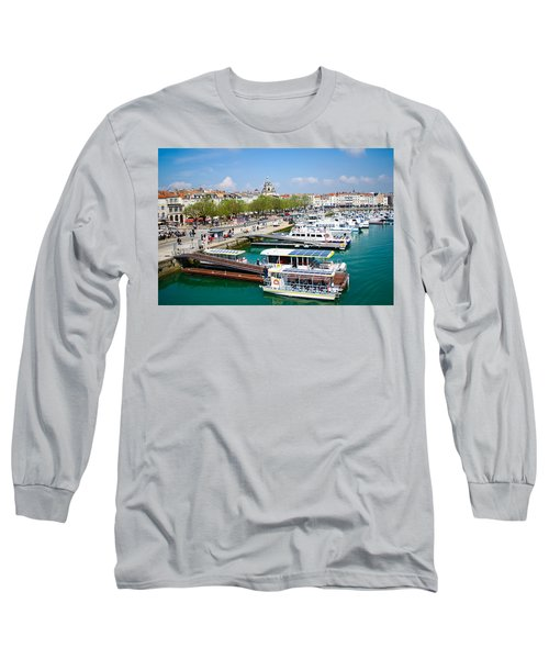 The Town And Port Of La Rochelle Long Sleeve T-Shirt
