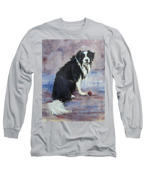 Long Sleeve T-Shirt featuring the painting The Twilight Years by Cynthia House