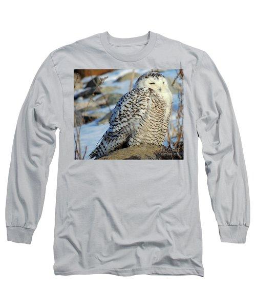 The Watcher Long Sleeve T-Shirt by Marcia Lee Jones