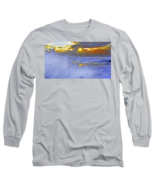 The Wave Which Got Me Long Sleeve T-Shirt