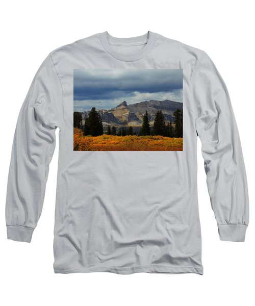 Long Sleeve T-Shirt featuring the photograph The Wedge by Raymond Salani III