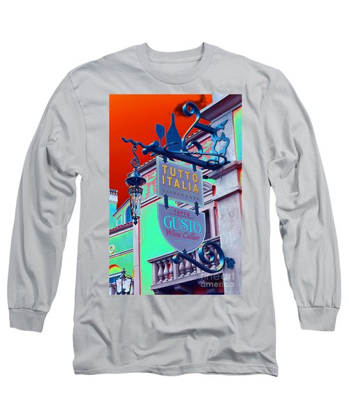 Long Sleeve T-Shirt featuring the photograph The Wine Cellar II by Robert Meanor